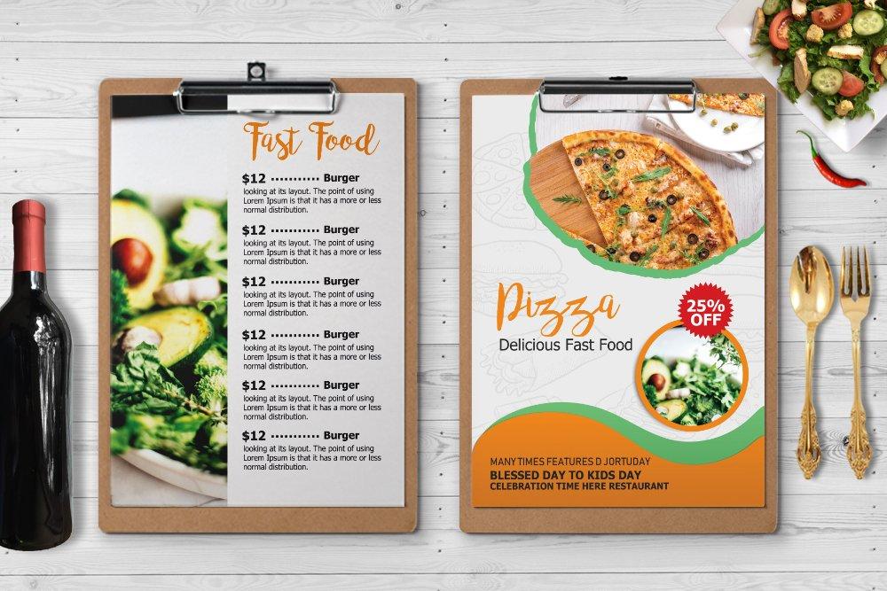 Restaurant Food Menu example image 2