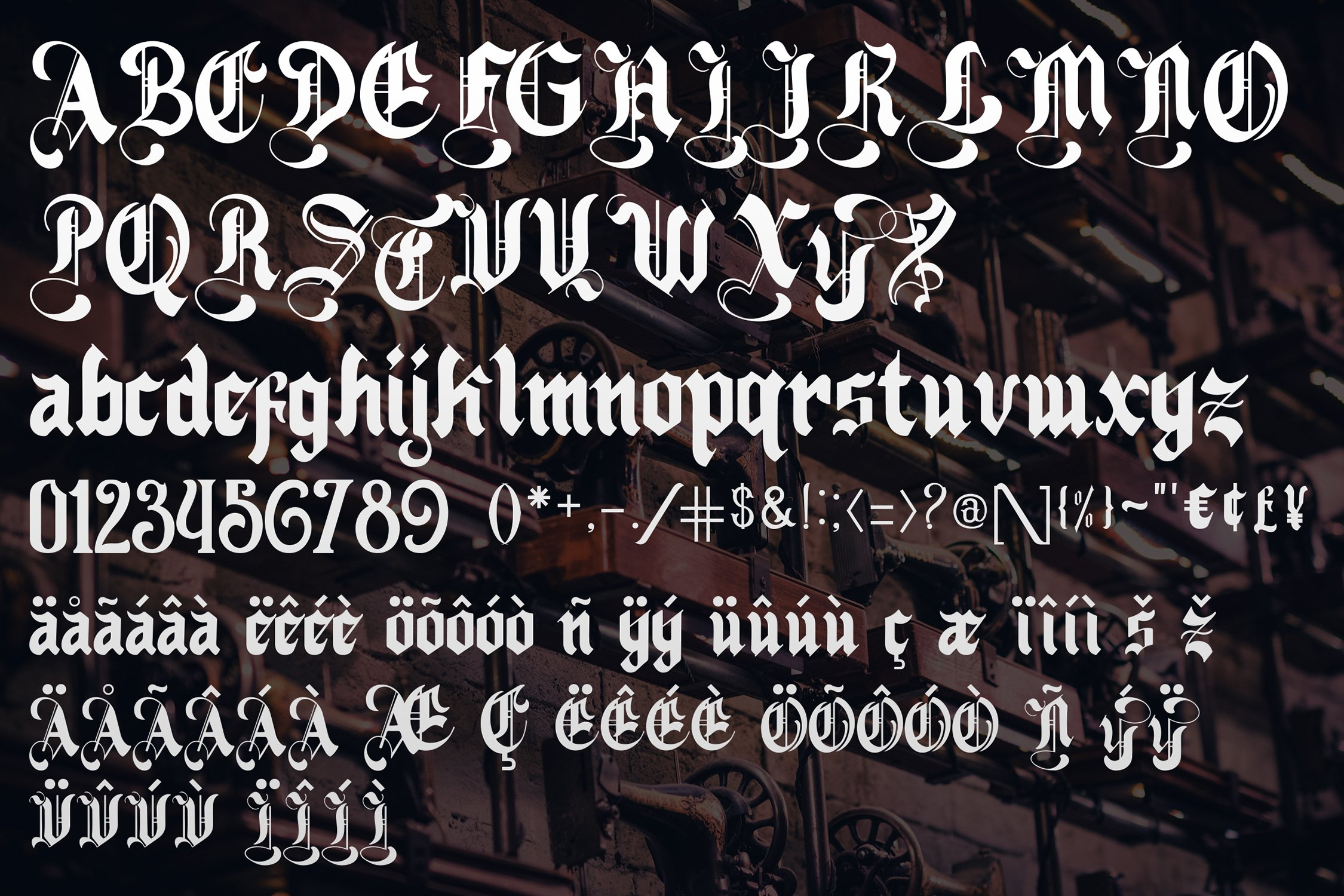 Nightingale - Medieval Font example image 2