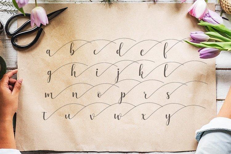 Web Font Alyshia Script example image 5