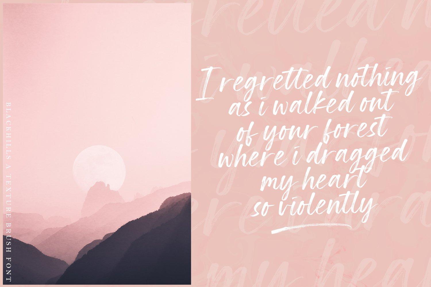 Blackhills - Brush Fonts example image 10