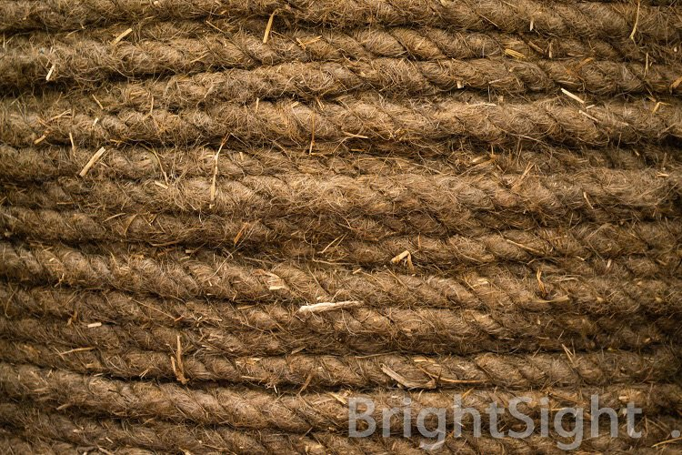Rope of coconut fiber example image 1