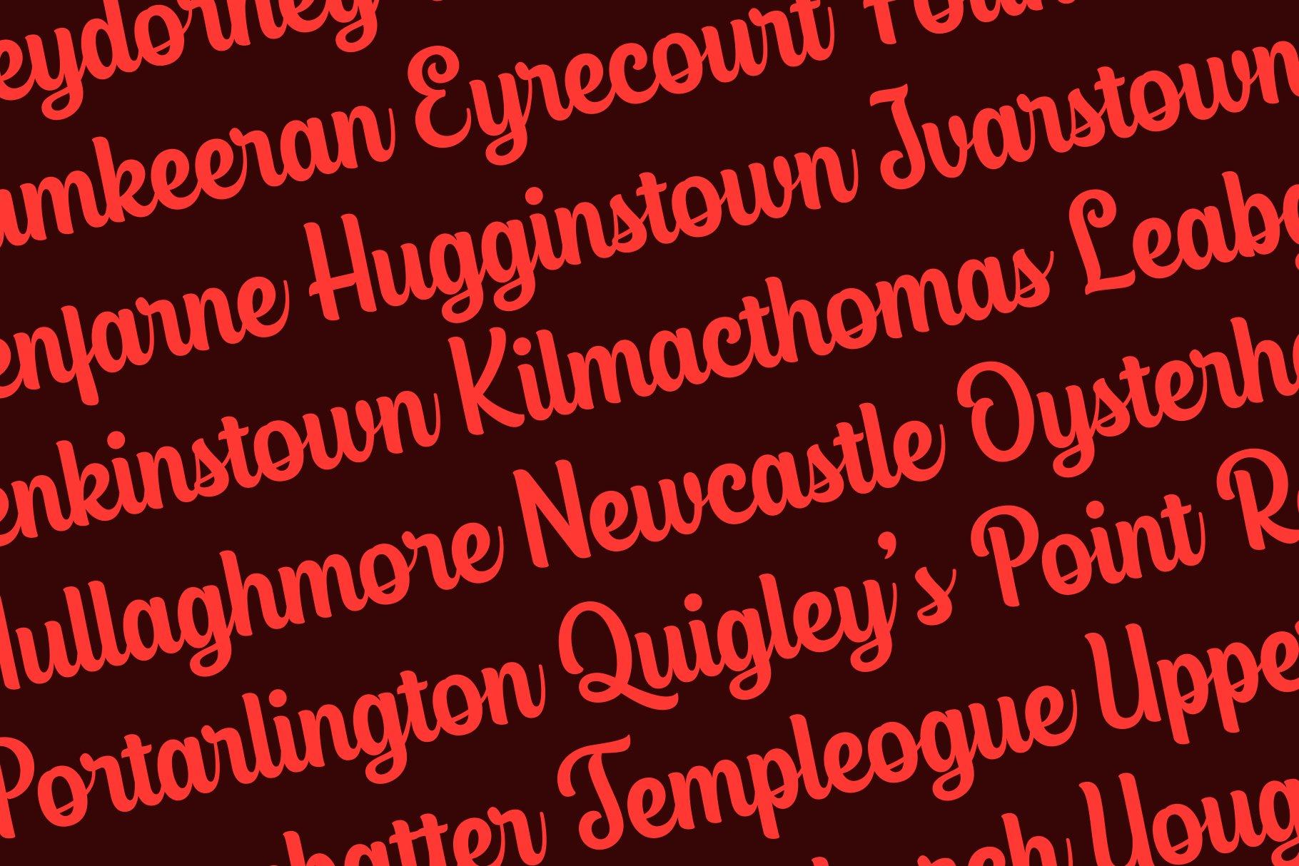 Glassgow Script example image 9