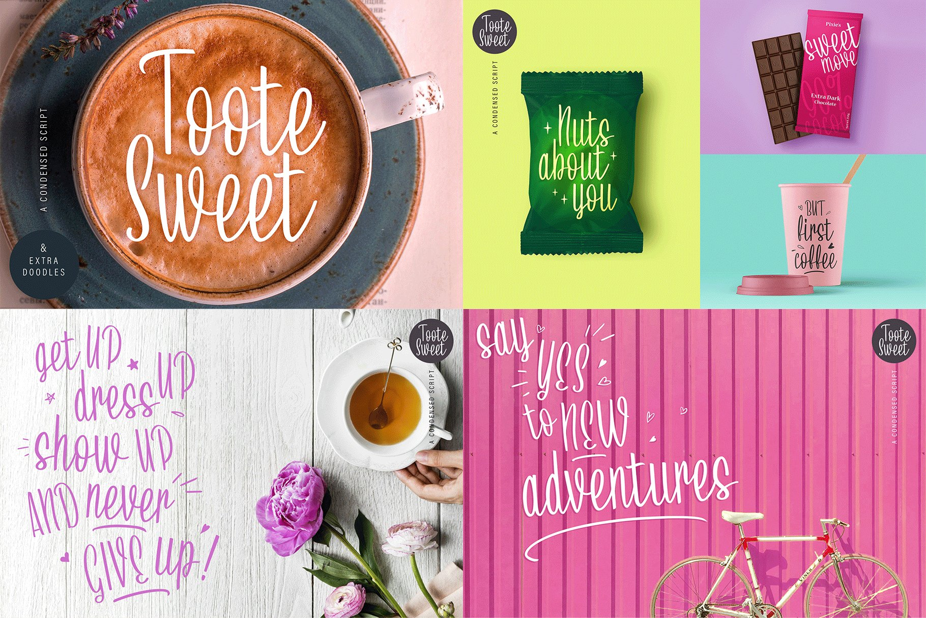The Hand Lettered Font Bundle example image 15