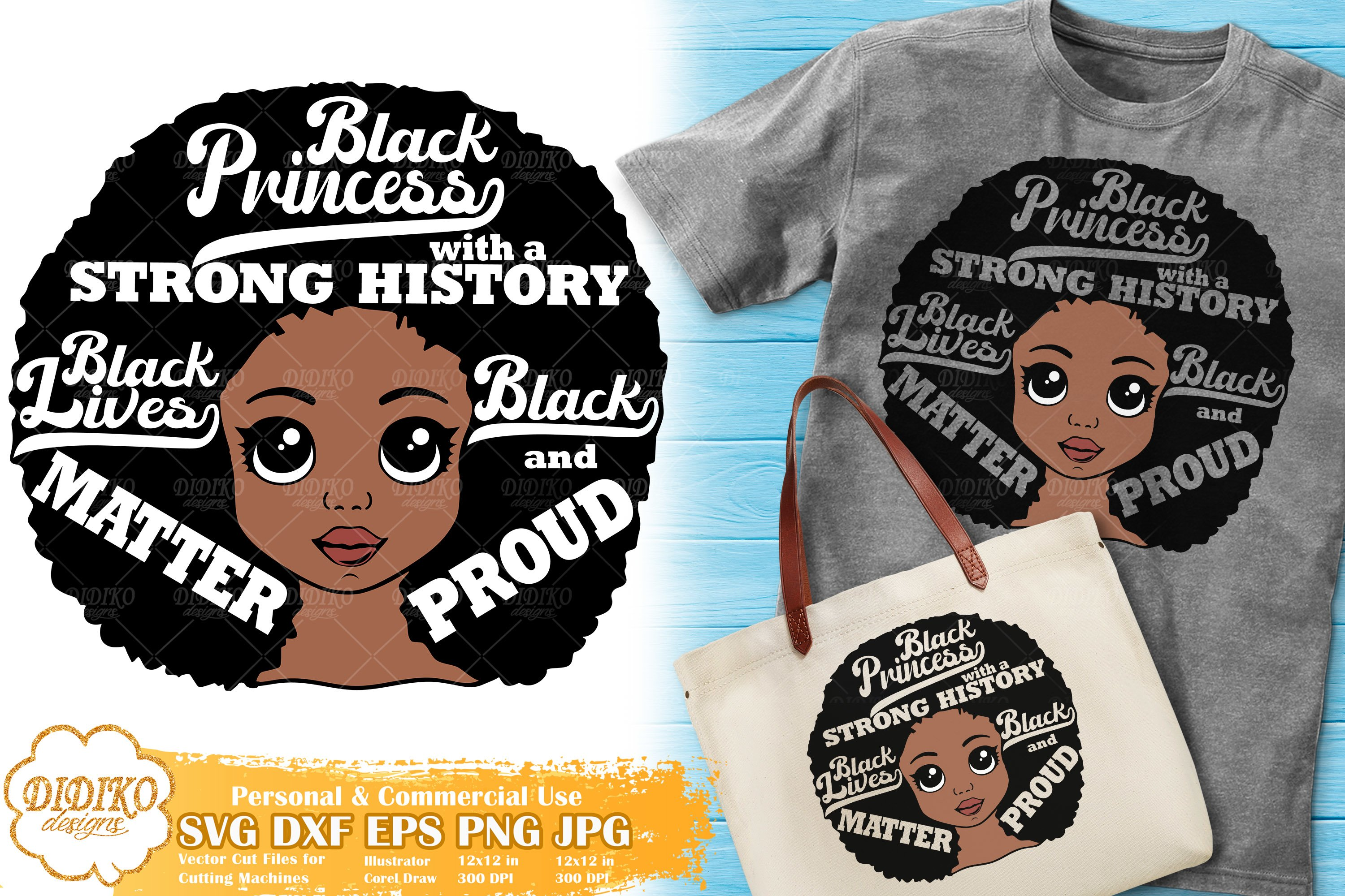 Black Girl Svg Black Lives Matter Black History Svg 674656 Cut Files Design Bundles