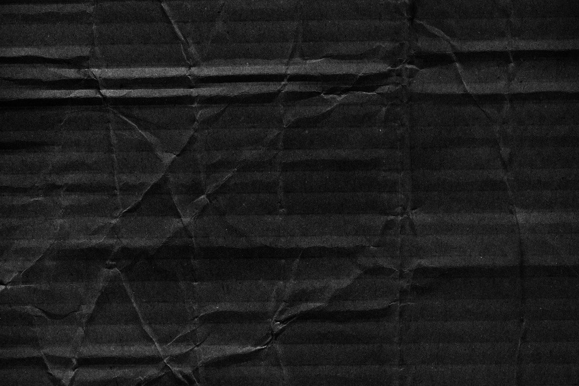 Black Cardboard Textures 3 example image 4