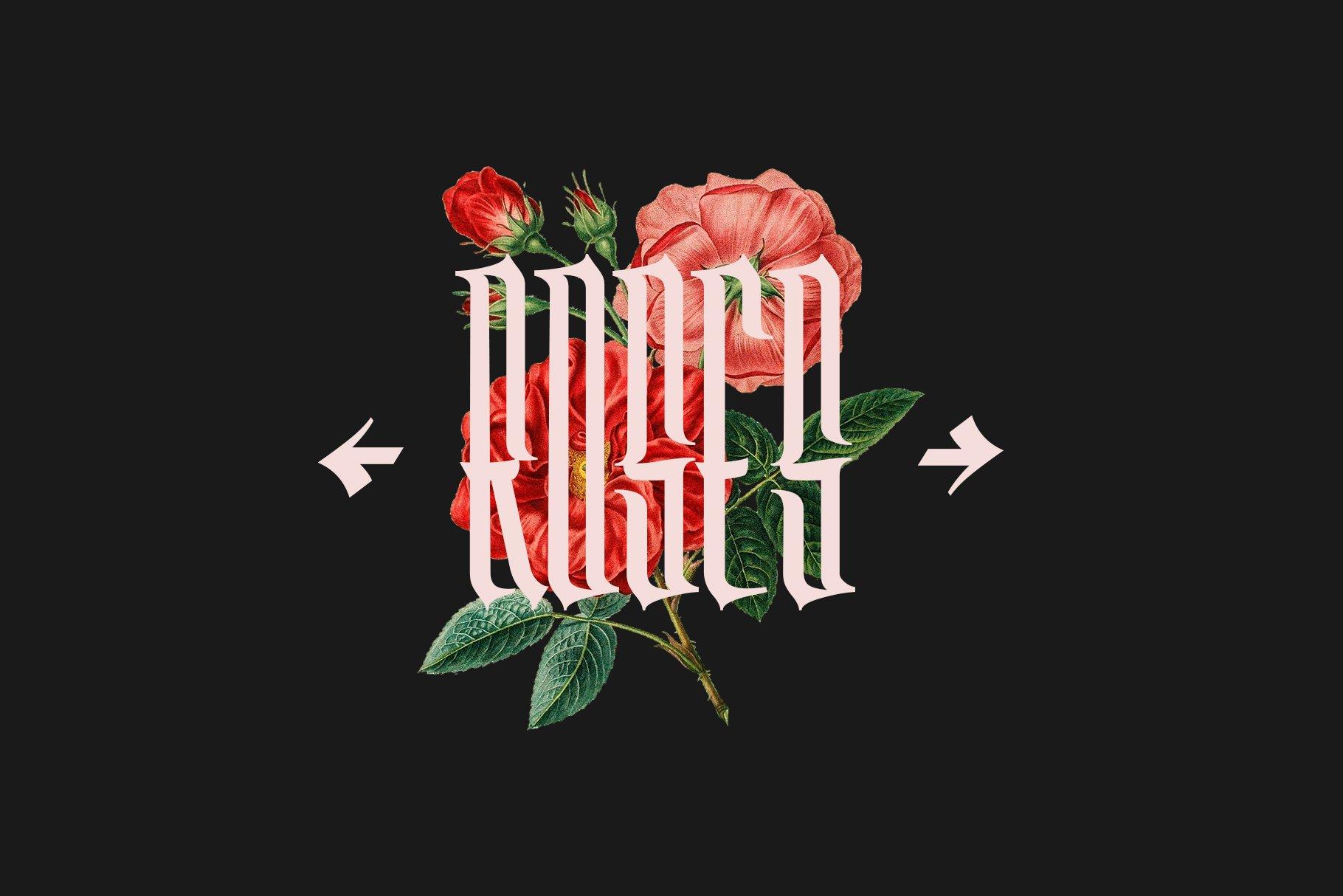 Washboard typeface example image 2