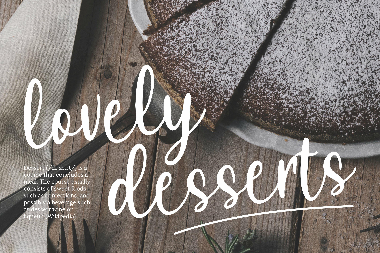 Lovely Cake Font example image 5