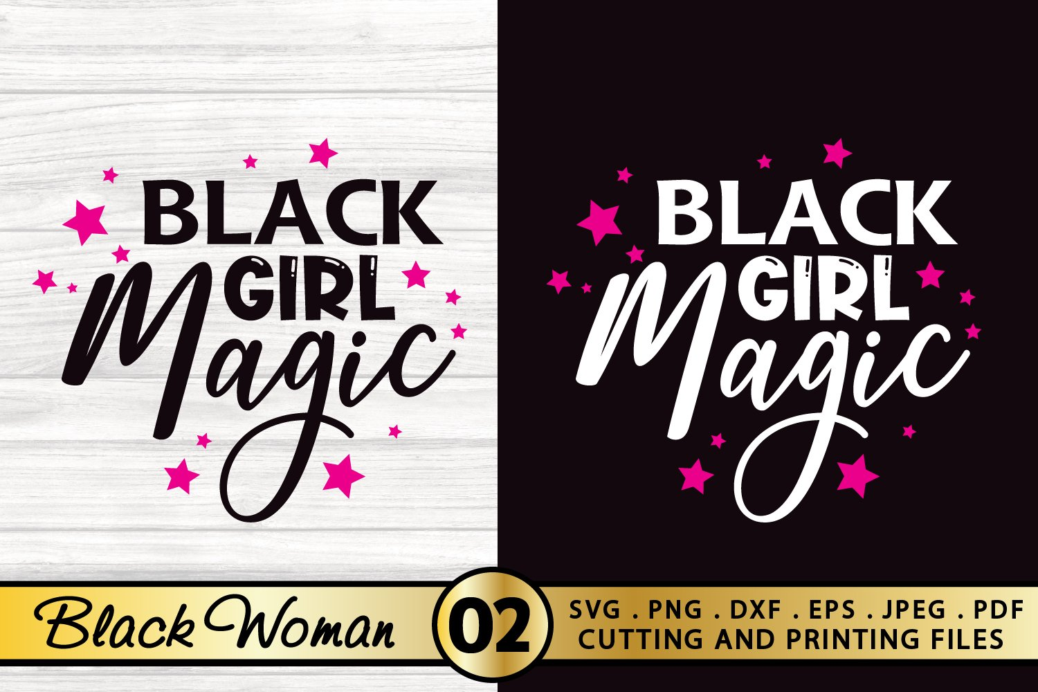 Girl afro black svg with African