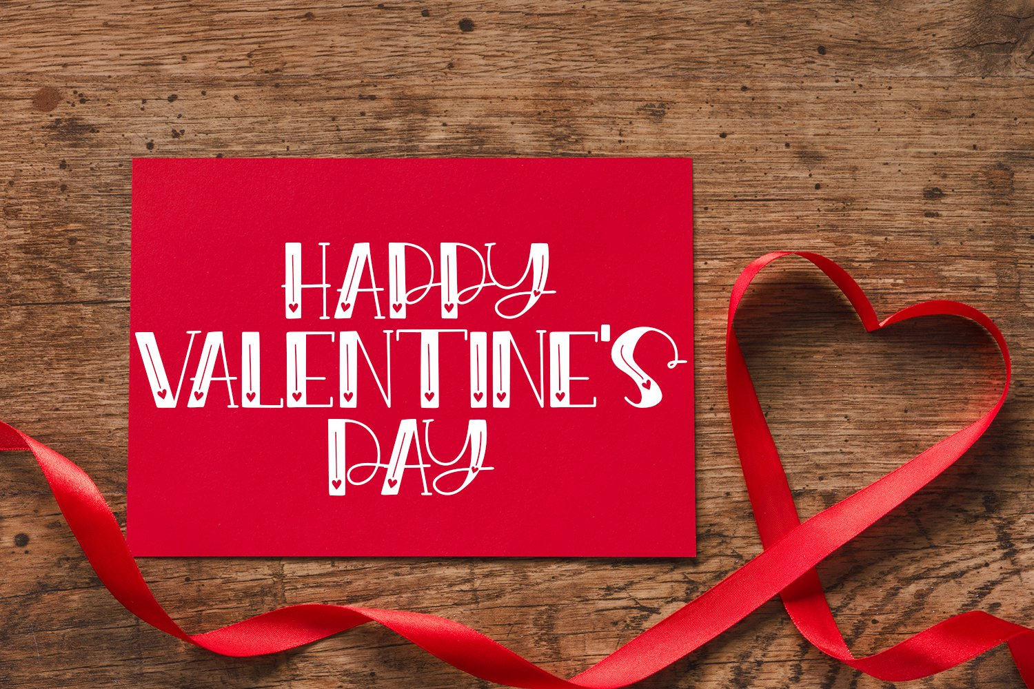 Endearment - A Valentine's Day Hand-Lettered Font example image 2