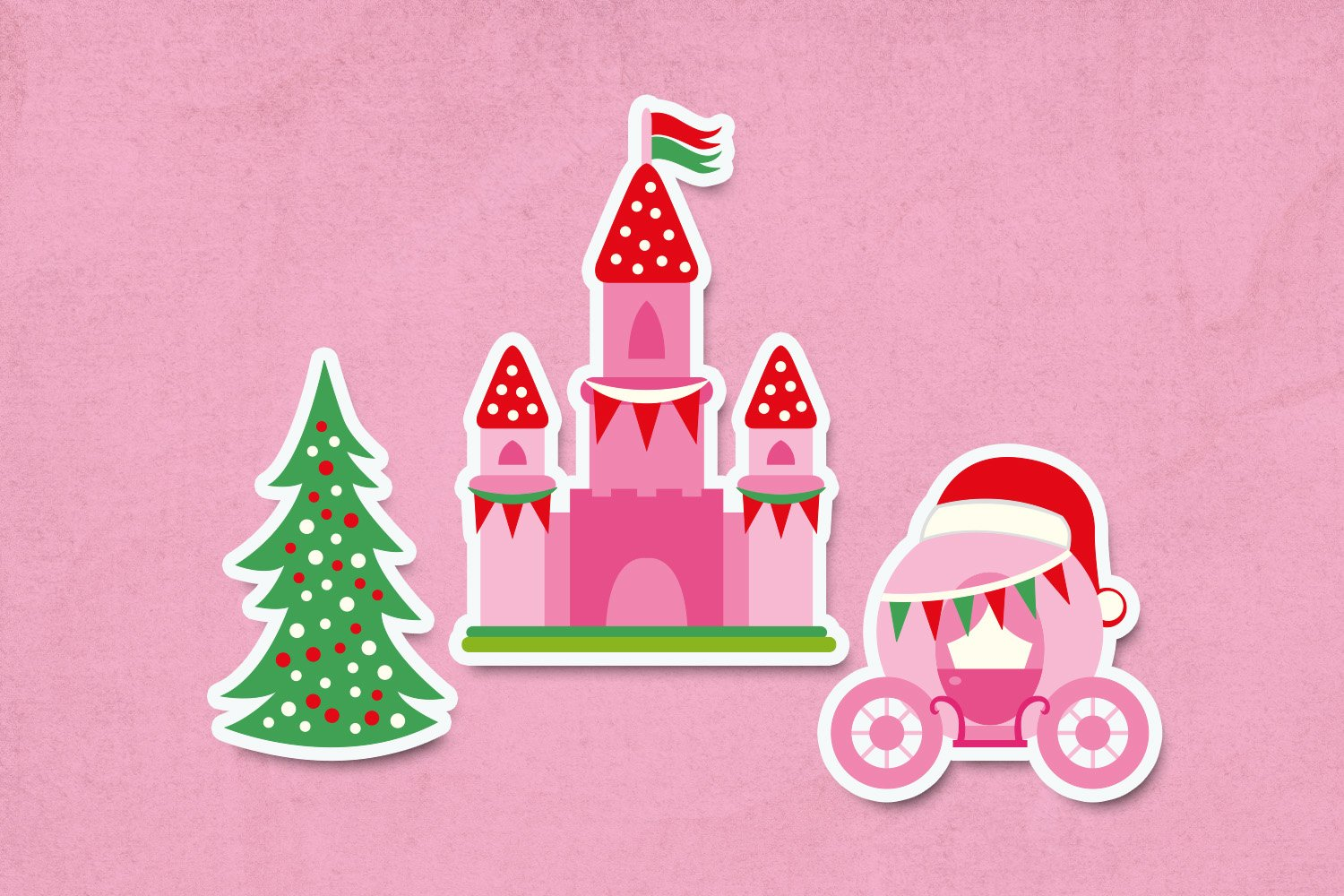 Christmas fairy tale illustrations clip art example image 3