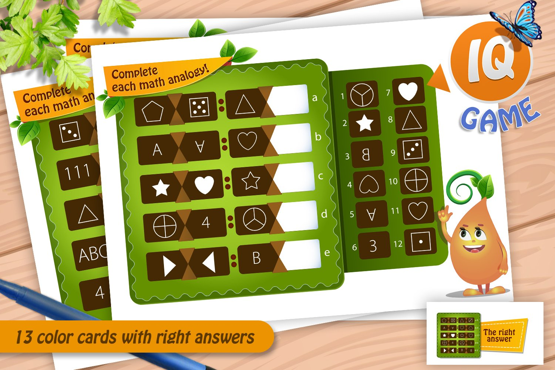 Download Games Complete Each Math Analogy 486119 Printables Design Bundles
