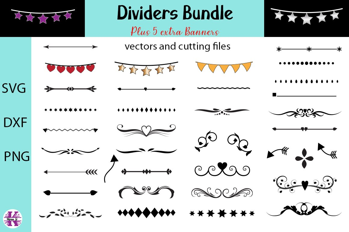 divider svg text dividers bundle svg,dividers silhouette,dividers cut files,dividers cricut,dividers vector DIVIDERS SVG