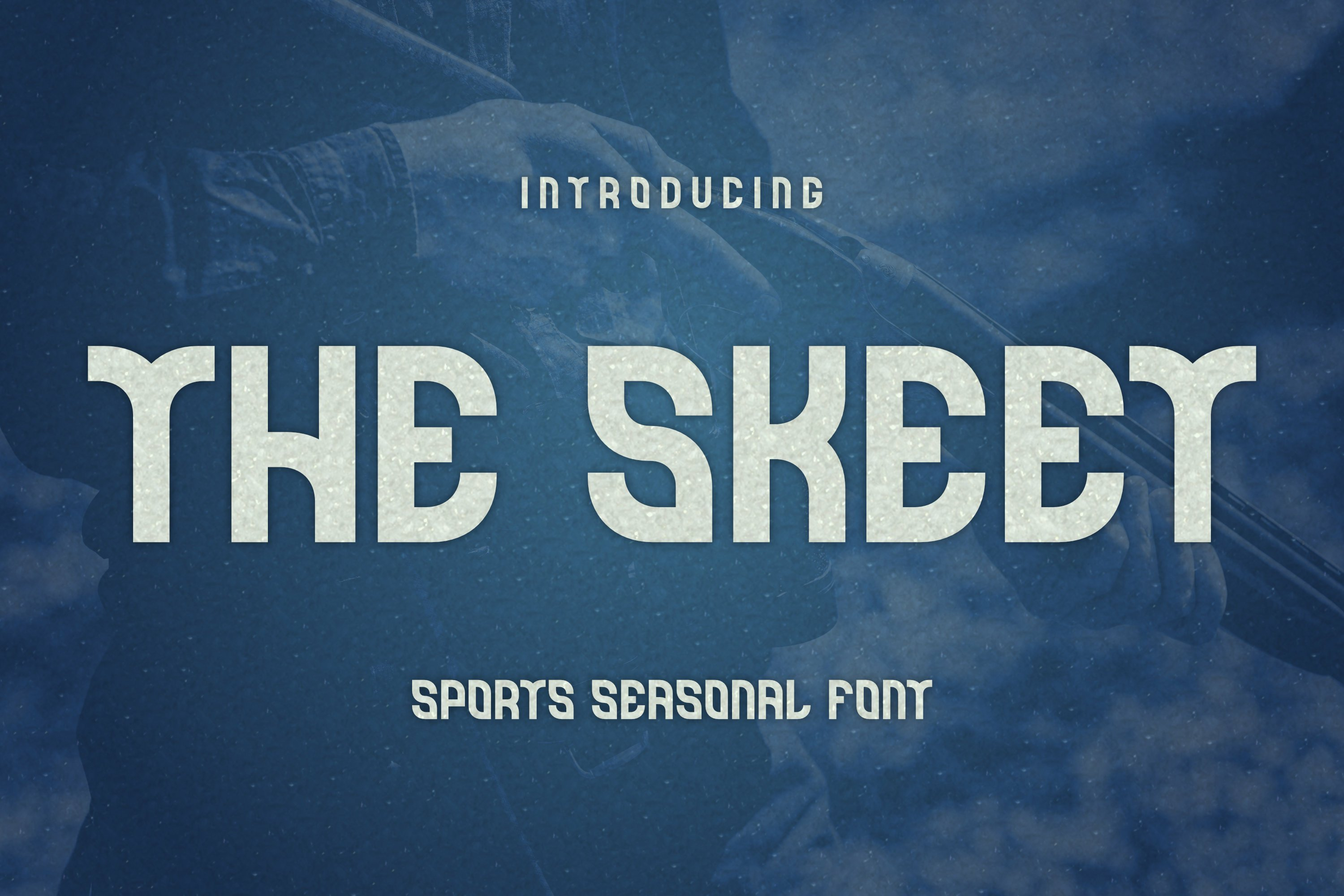 The Skeet Font example image 1