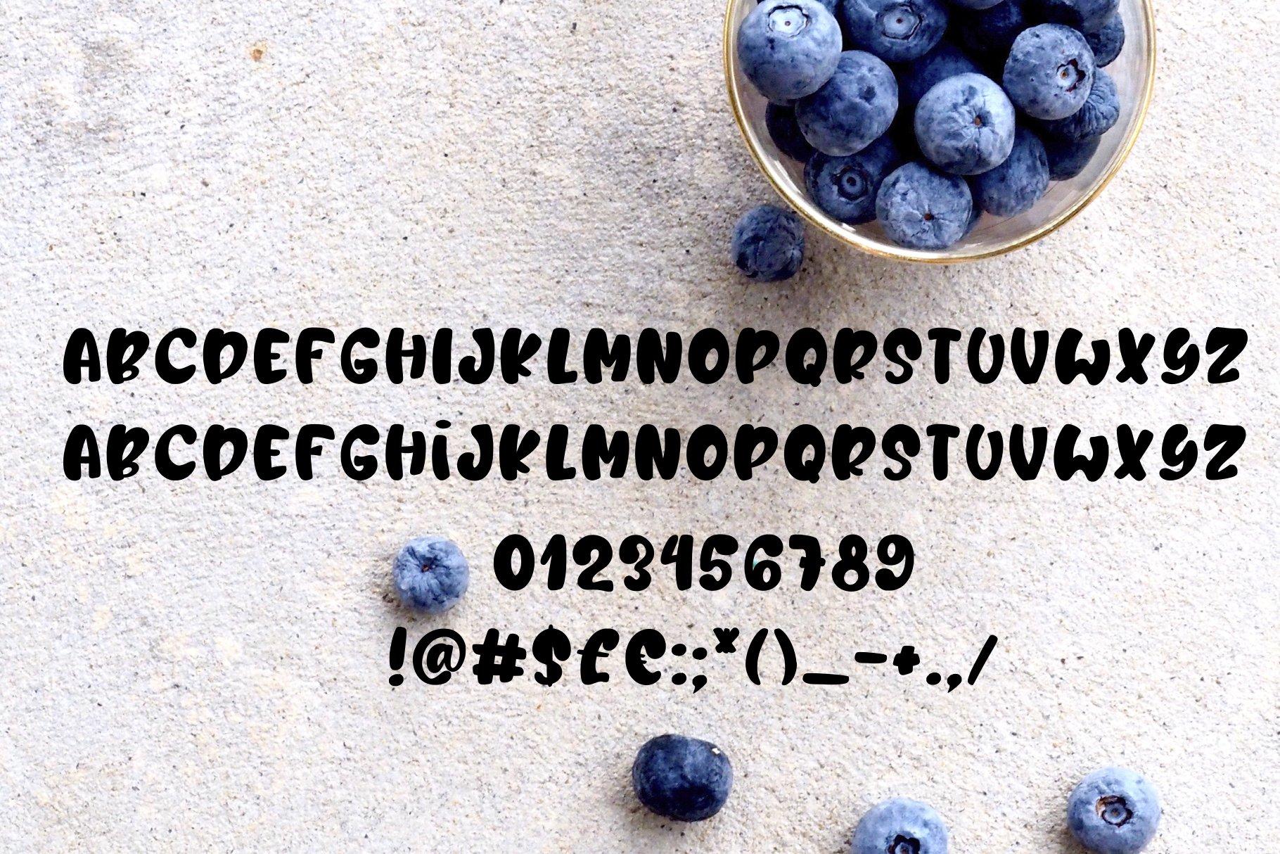 Berry Lemonade Font Duo example image 9