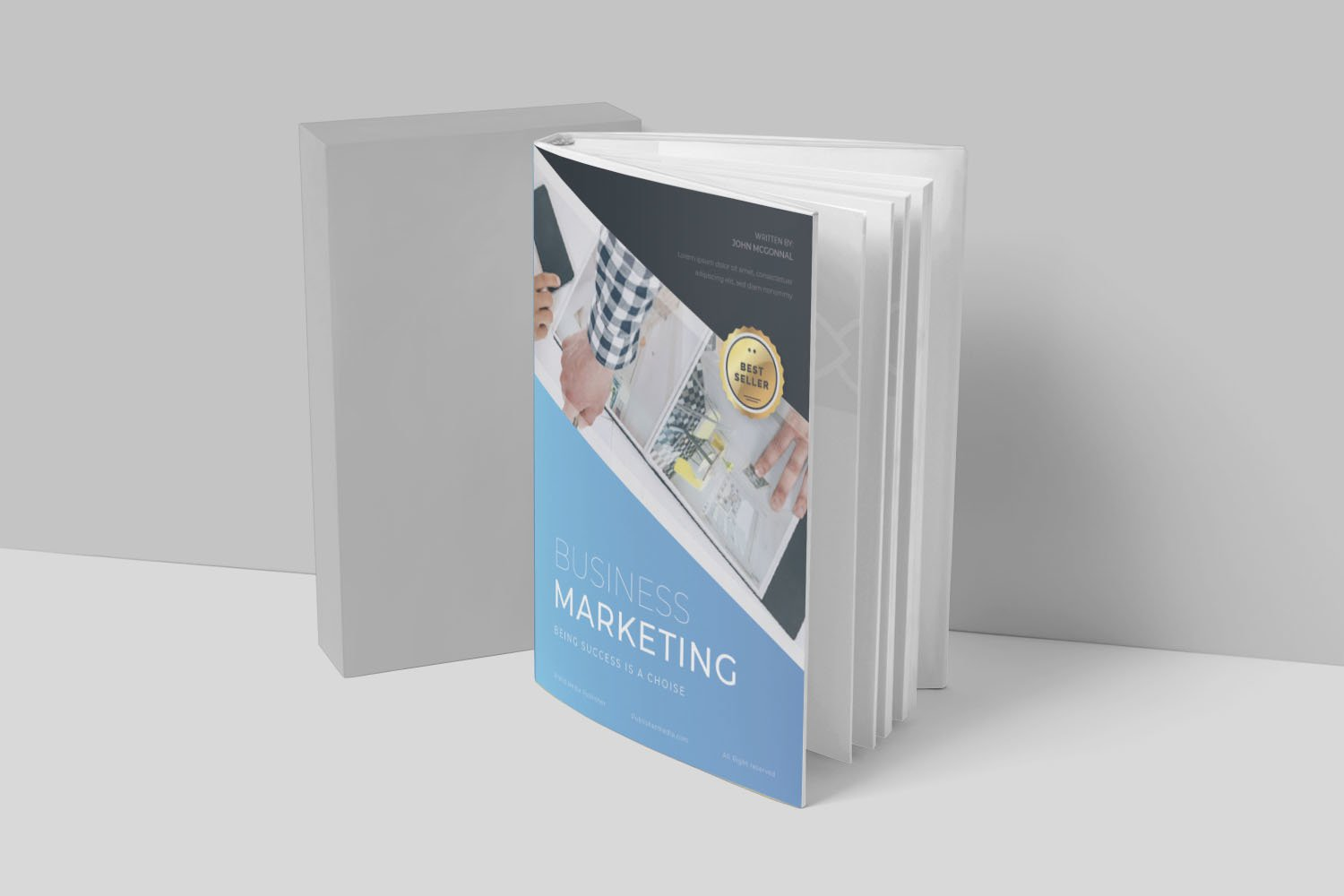 Business Marketing Book Cover example image 3