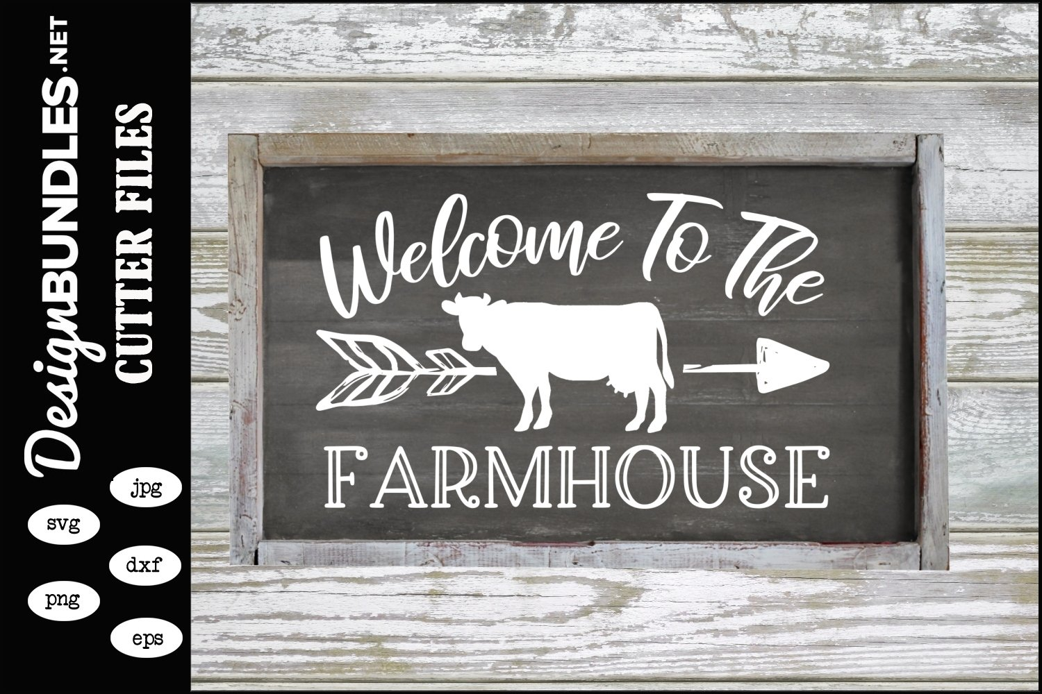 Welcome To The Farmhouse SVG example image 1
