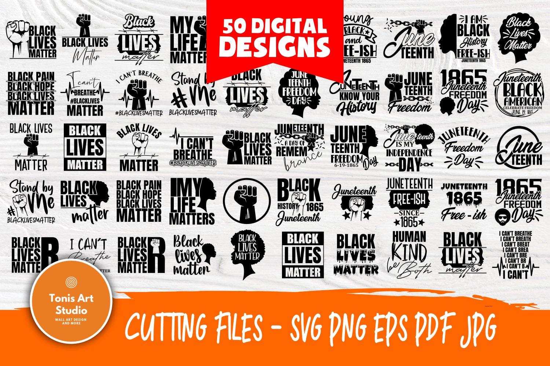 Black Lives Matter Svg Bundle Juneteenth Svg Black History 678946 Cut Files Design Bundles