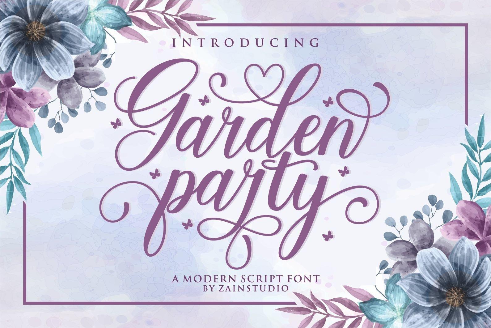 Garden Party example image 1