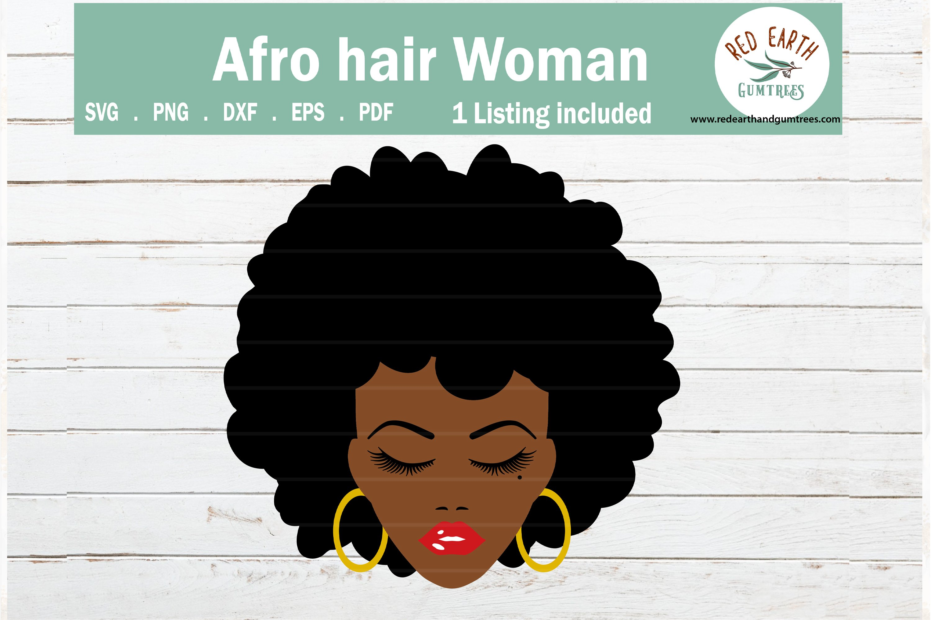 With clipart girl black afro Black women