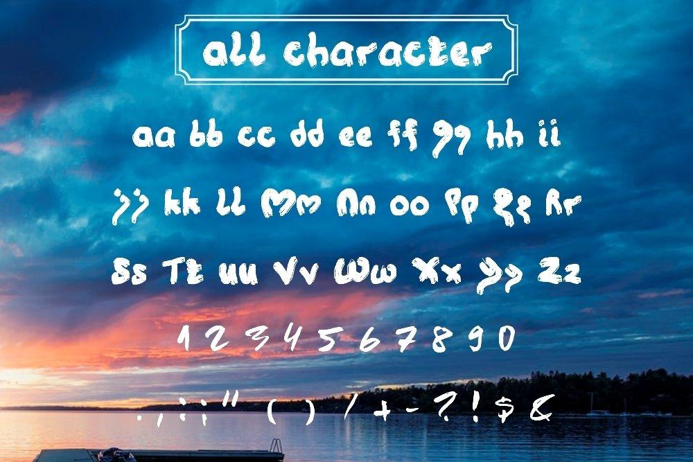 Joyagatra - 5 Font styles and 150 Swashes example image 5
