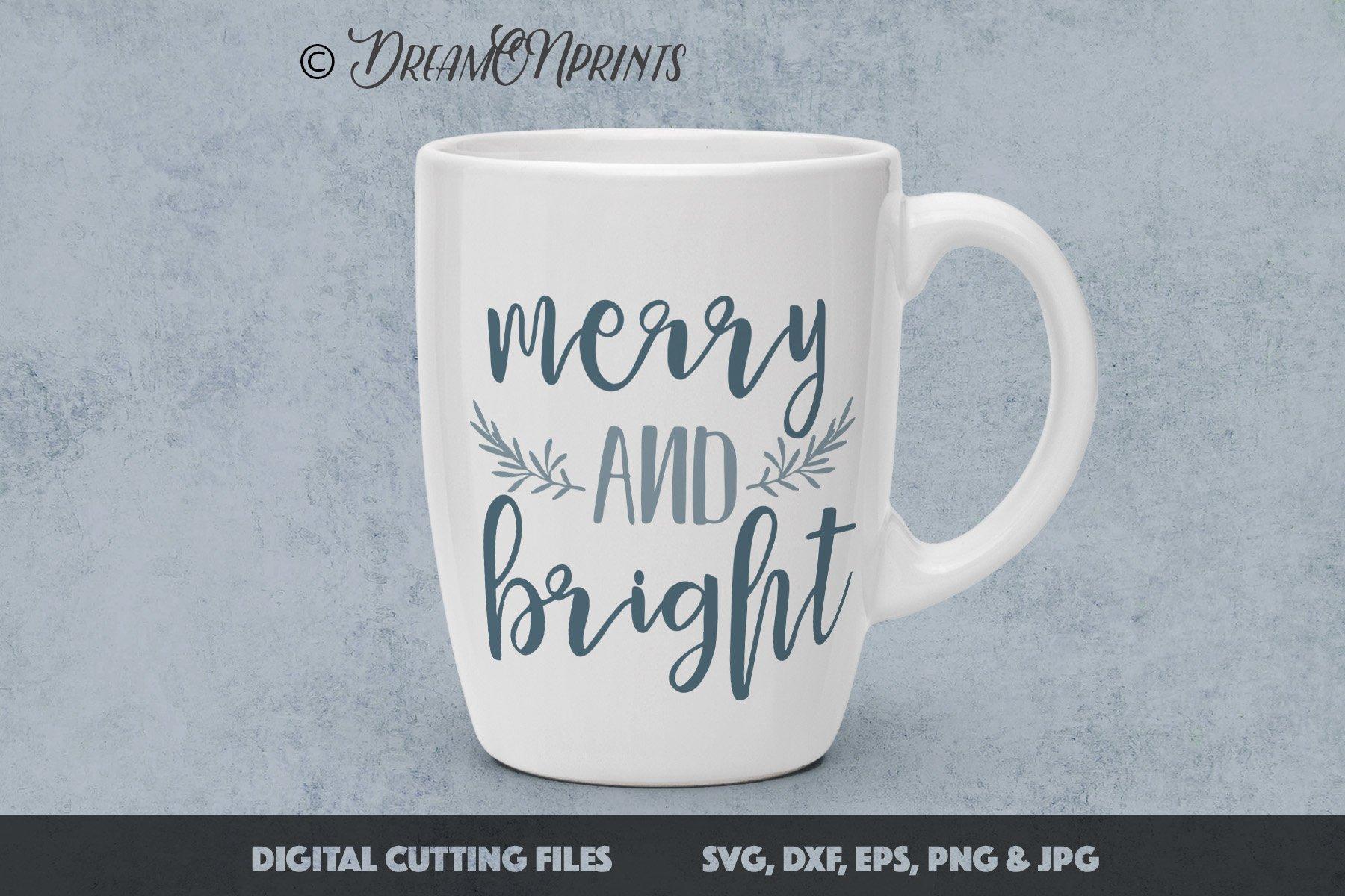 The BIG CHRISTMAS Holidays Bundle - 27 SVG Designs example image 5