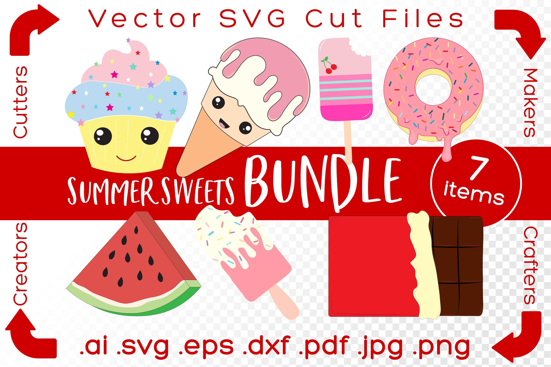 Summer Sweets Bundle Svg Cut Files Diy For Crafters Makers 798699 Cut Files Design Bundles
