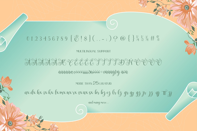 Apenzell Script | free wedding monogram logo example image 7