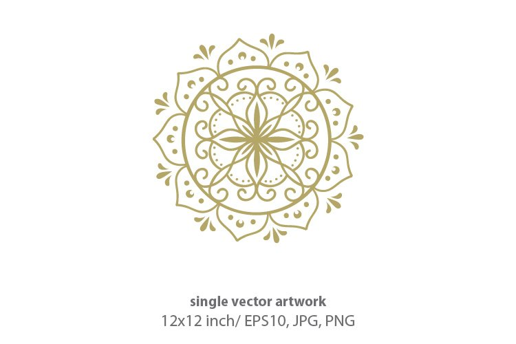 golden sun - single vector artwork example image 1