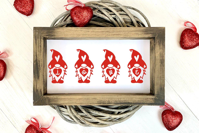 Gnomie Love - A Valentine's Day Monogram Font example image 4