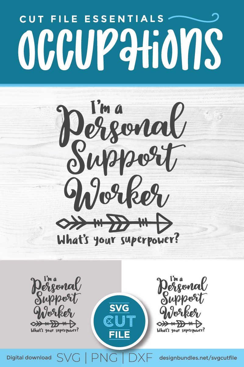 PSW superpower svg-a Personal support worker svg example image 2