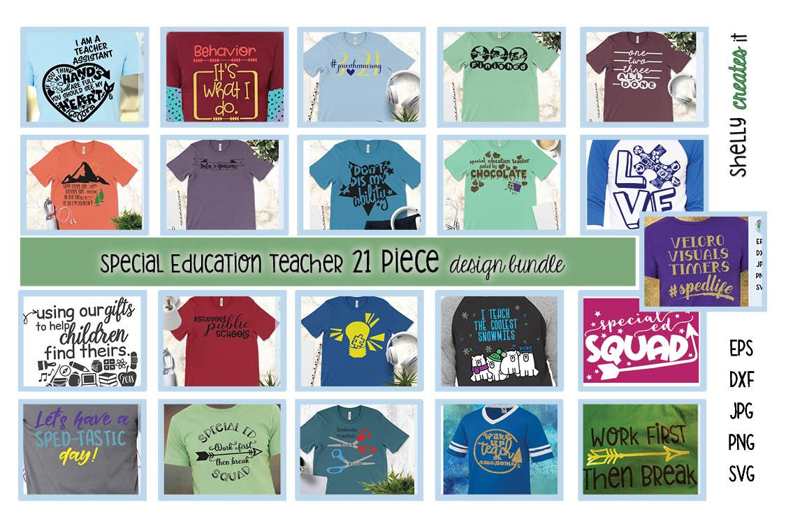 Special Ed Teacher BUNDLE example image 1