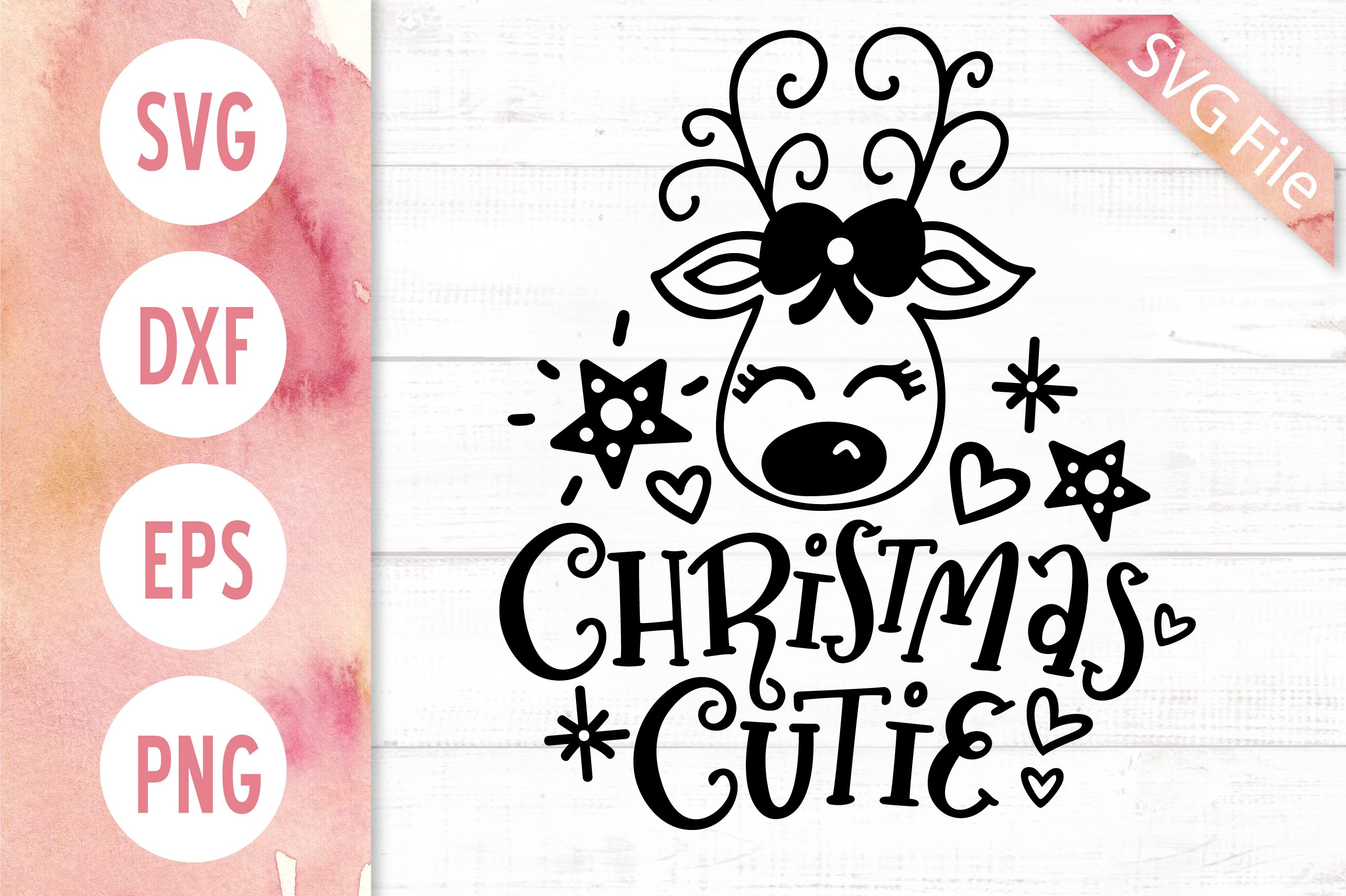 Christmas Cutie Svg Dxf Png Eps Baby Girl Christmas Svg 375353 Svgs Design Bundles