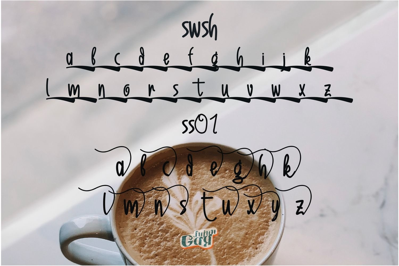 Sweet Romantic Typeface example image 7
