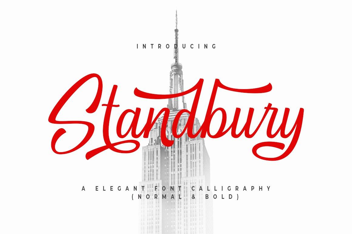 Standbury Script example image 1