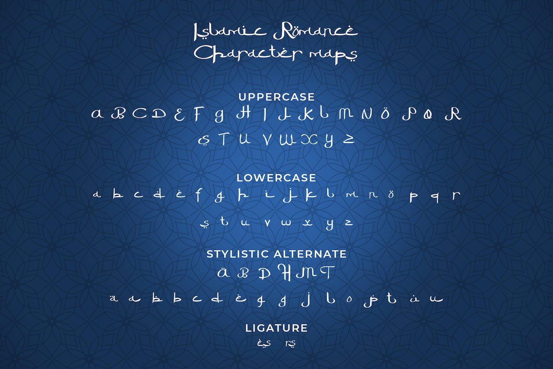 Islamic Romance - Arabic Fauxlang Font Duo example image 14
