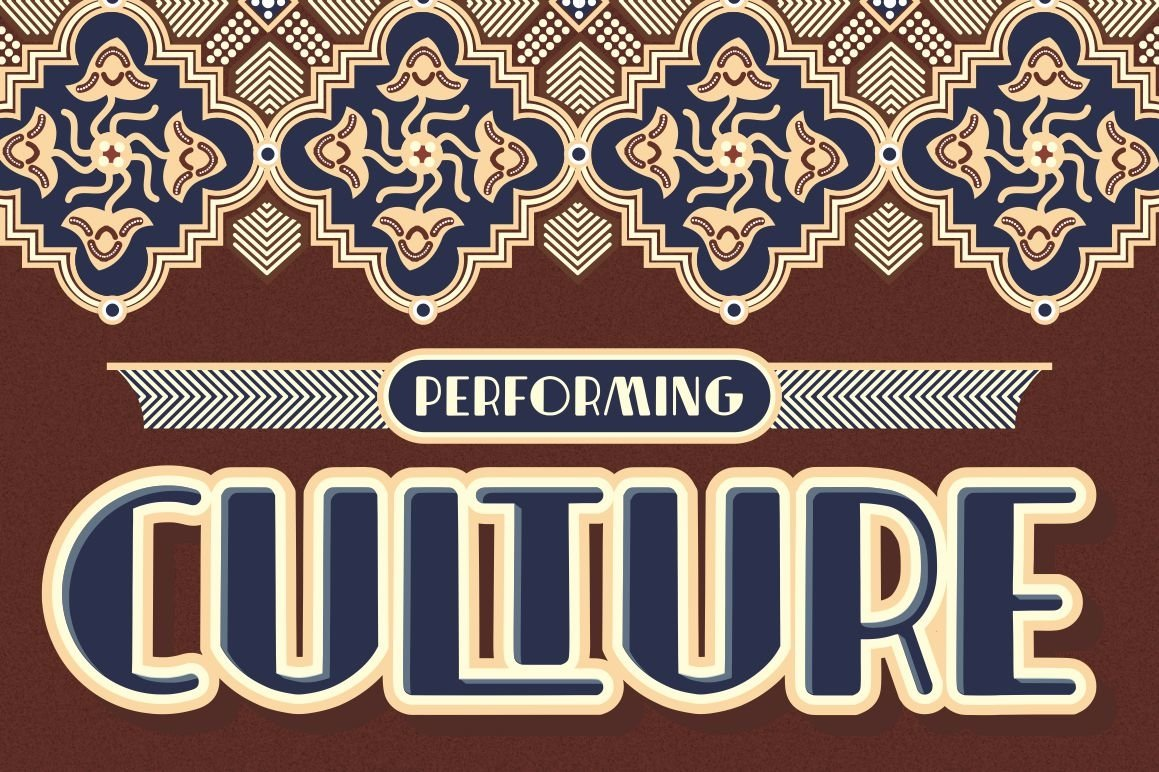 Indentia - Art Deco Typeface example image 6