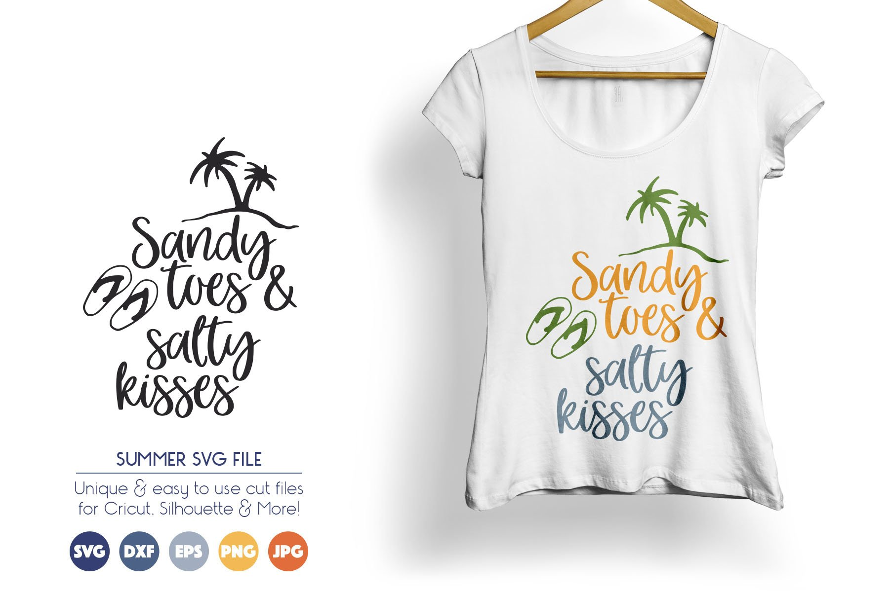Summer SVG Cut Files example image 1