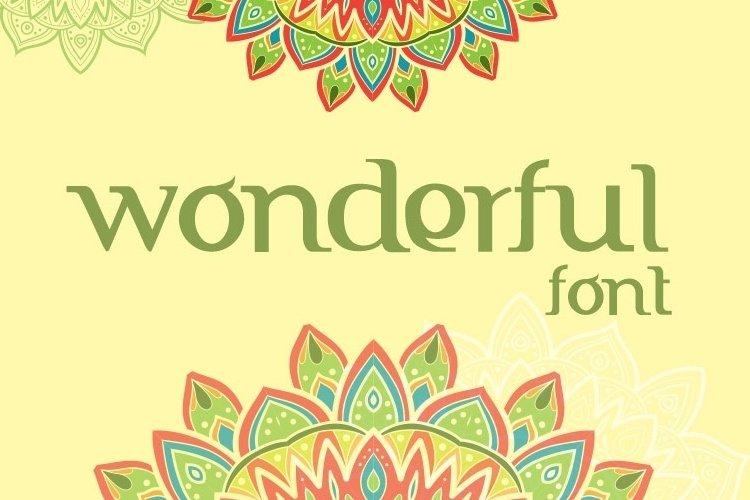 FTF Indonesiana Aruna Serif PRO example image 1