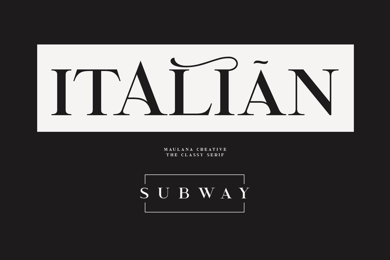 Garcedo Display Serif Font example image 3