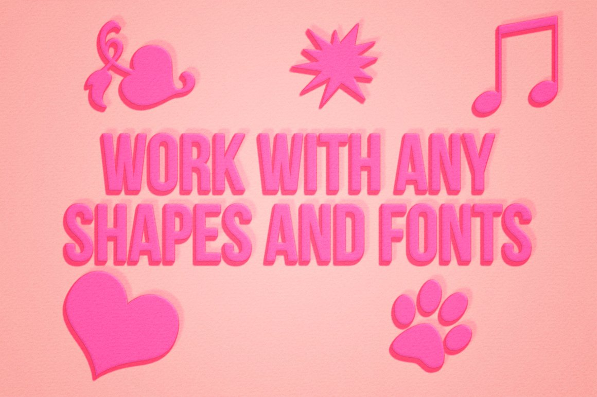 Lovely Text Effect for Photoshop example image 3