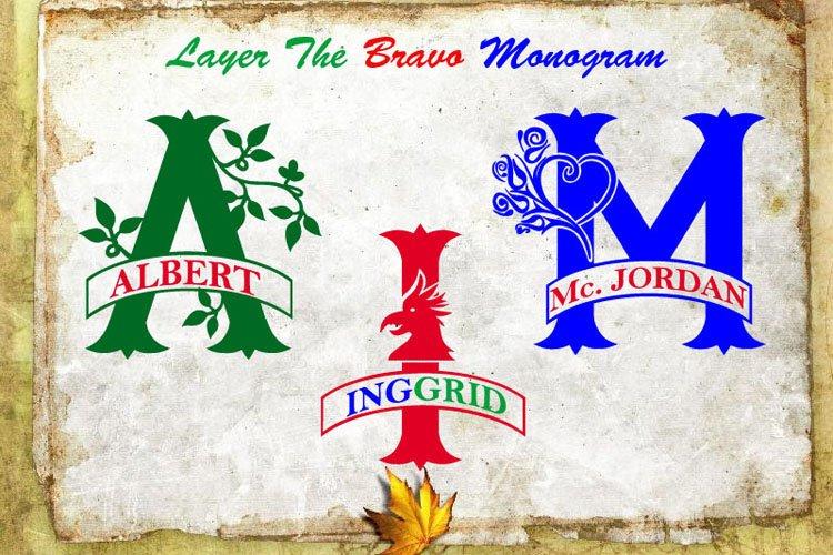 Monogram Bundles example image 15