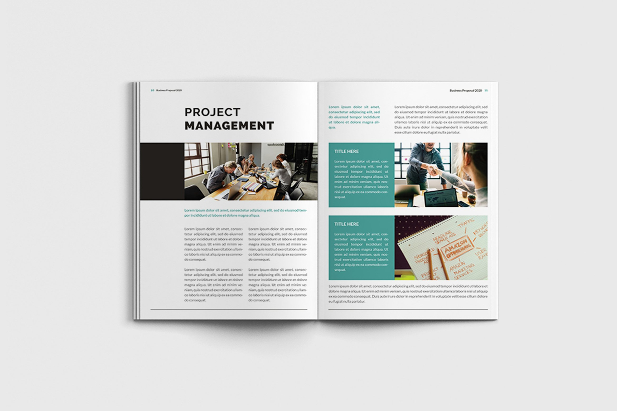Mager - A4 Management Brochure Template example image 7