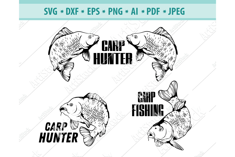 Download Fishing Svg Carp Fishing Svg Sport Fishing Png Eps Dxf 1094696 Cut Files Design Bundles