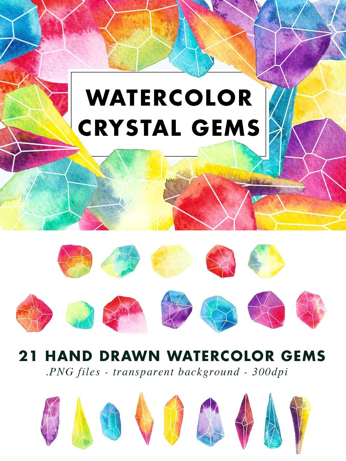 SALE | Watercolor Bundle | Best Sellers Clipart Illustration example image 24