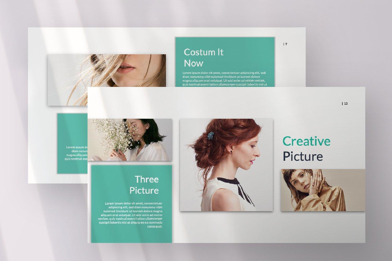 Kaori Business Google Slide example image 14