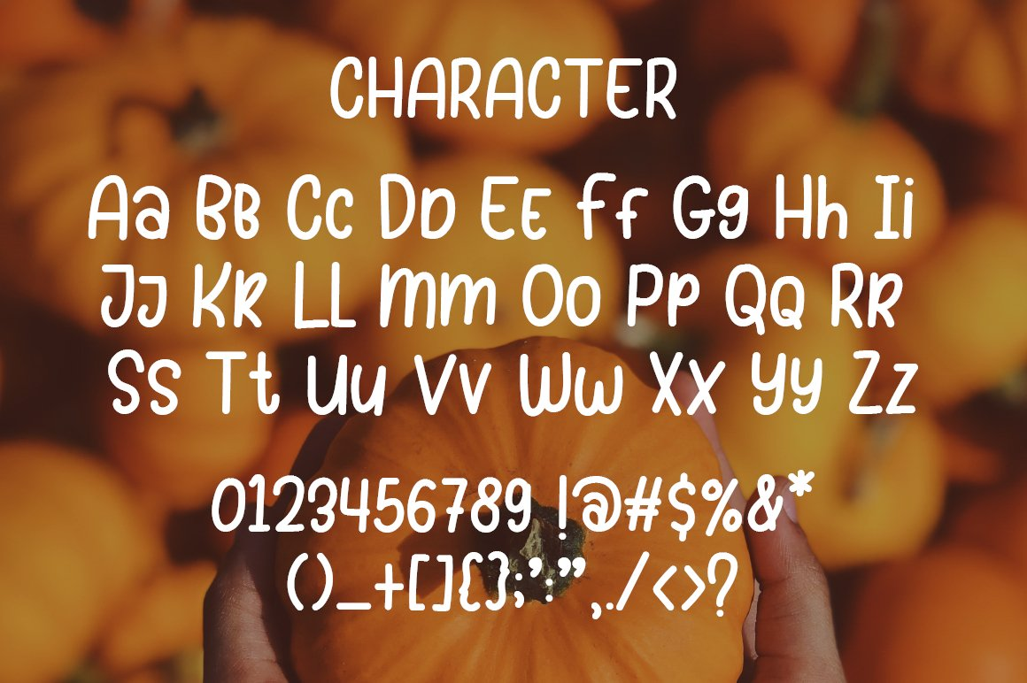 Sunday Pumpkins - Playful Font example image 6
