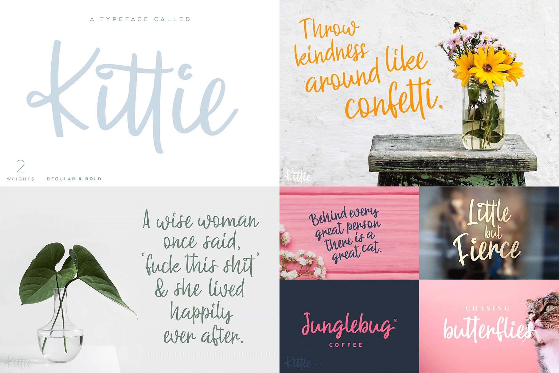 The Hand Lettered Font Bundle example image 12