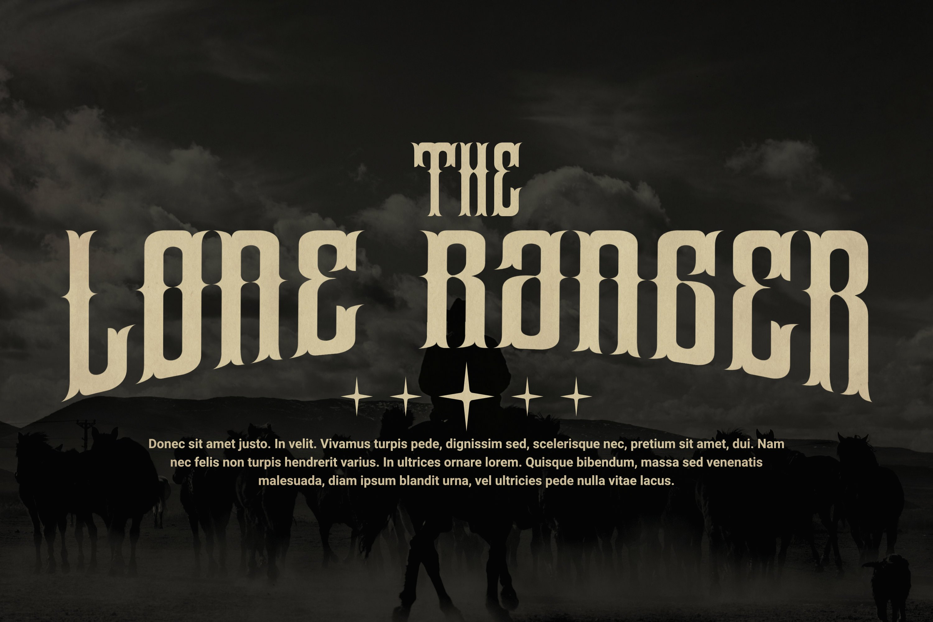 Unstoppable Font example image 2