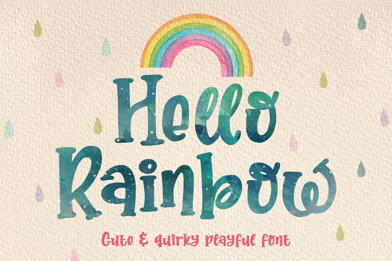 Hello Rainbow example image 1