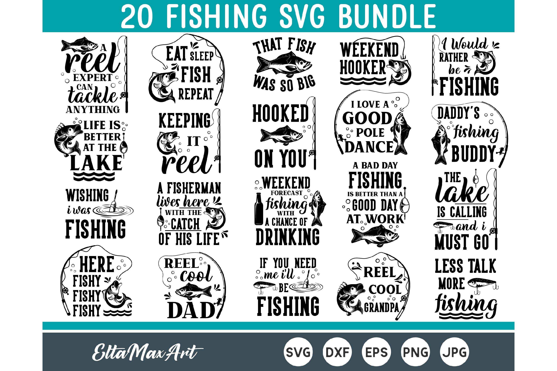 Download Fishing Svg Bundle Fish Svg Dad Svg Funny Quotes Svg 697639 Cut Files Design Bundles